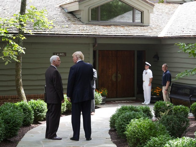 White House officials are buttering up Republicans ahead of the impeachment vote by bringing them to Camp David to make s'mores and shoot clay pigeons