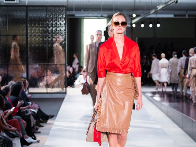 New-look Burberry tops the bill at London Fashion Week