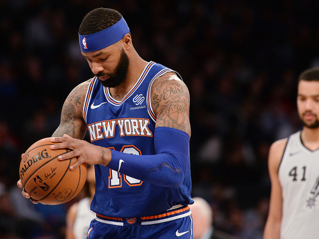 Marcus Morris making Knicks return from dad-related injury