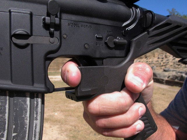 William L. Akins, Akins Accelerator bump stock inventor, warns owners against waiving rights