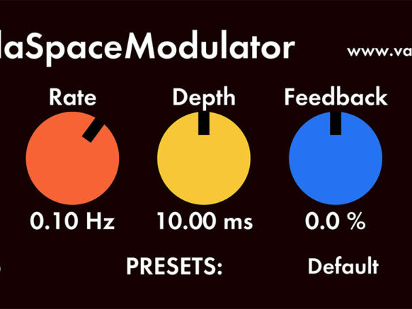 Freebie: Valhalla's SpaceModulator is a luscious flanger/doubler plug-in