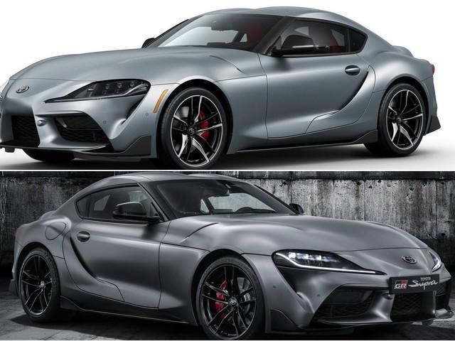 2020 Toyota Supra vs Toyota GR Supra Performance Line TRD Concept