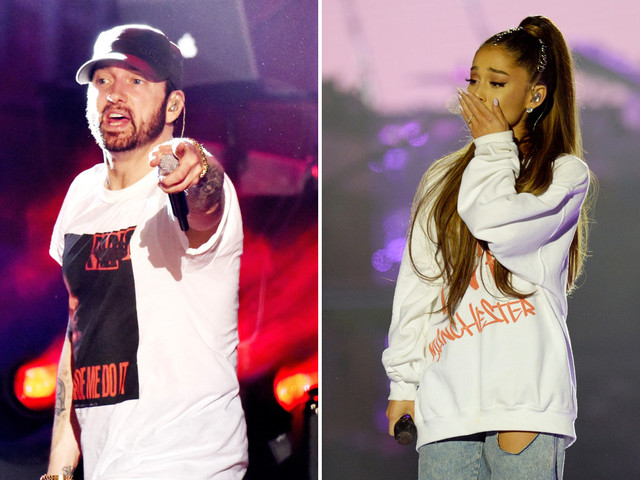 Eminem's Ariana Grande lyric about Manchester Arena bombing sparks fan fury
