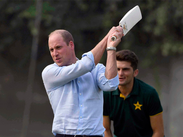 Prince William Plays Cricket in Sold-Out Nikes During Pakistan Tour