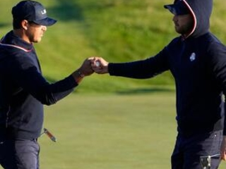 The Latest: U.S. off to quick start on Day 2 at Ryder Cup
