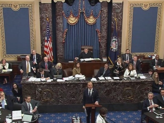 Reporters keep catching senators sneaking snacks into the chamber, breaking the impeachment trial rules