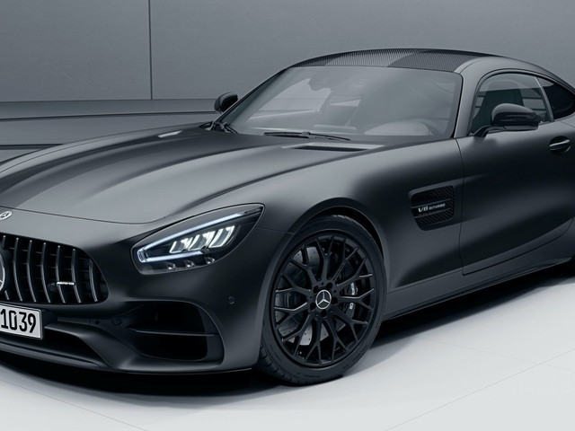 America's 2021 Mercedes-AMG GT Coming With More Power And A Stealth Edition