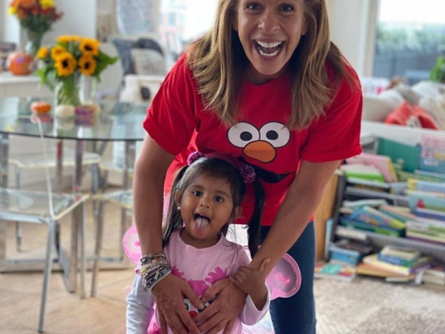 "Watch Hoda Kotb's 3-Year-Old Daughter Haley Joy React to Her ""Secret Signal"" on TV"
