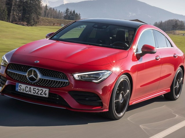 2019 Mercedes CLA Coupe Flaunts Its Curves In 73-Image Gallery