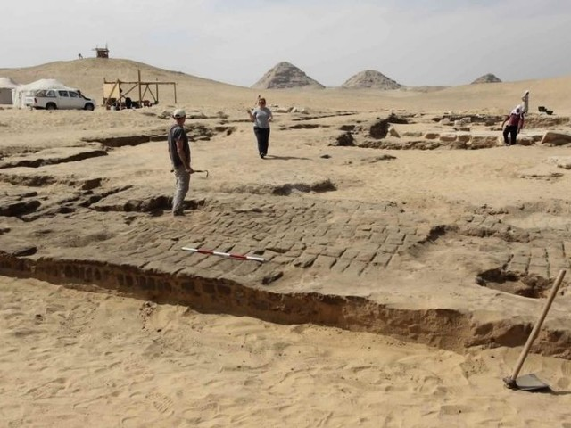 Desert discovery: Lost temple of Ramses II uncovered by archaeologists