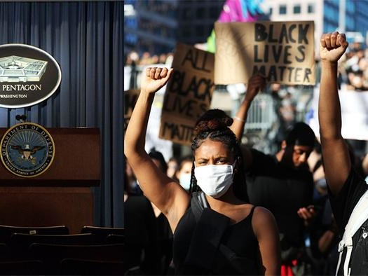 """Pentagon Reportedly Tracking """"Extremist"""" Web Searches Including """"The Truth About Black Lives Matter"""""""