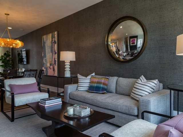 Contemporary townhouses in a convenient Md. location.