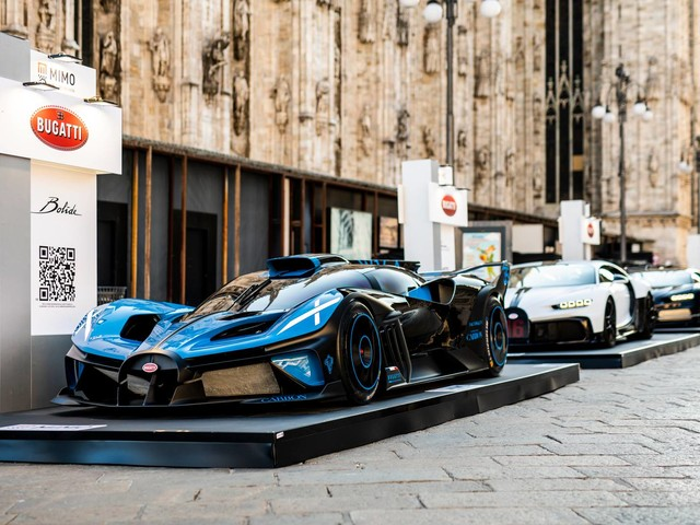 The Bugatti Bolide Made Its First Public Appearance in Milan And Sounds Epic
