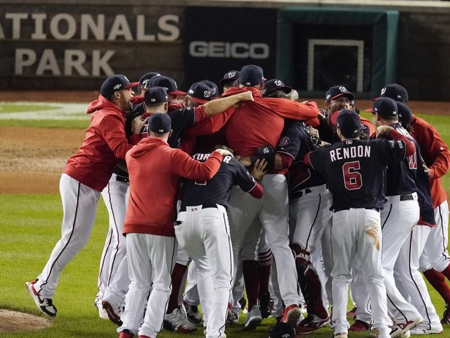 Nationals, left for dead in May, now head to World Series