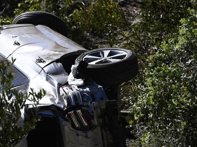 Tiger Woods recovering from surgery after serious injuries. Authorities say car flipped multiple times.