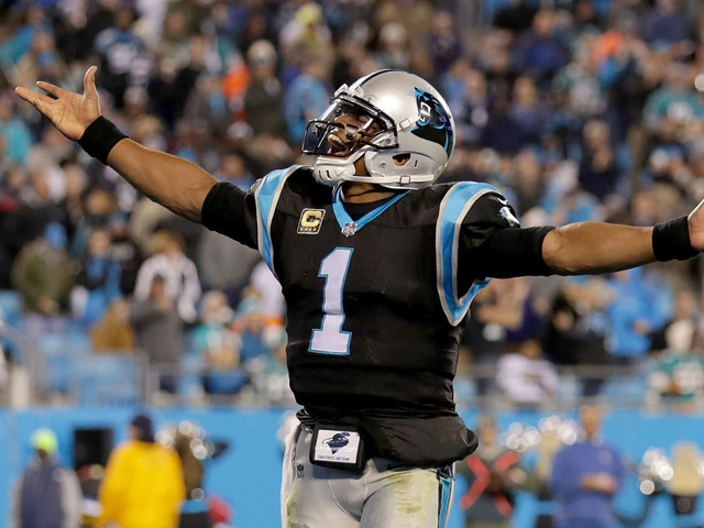 Cam Newton, Devin Funchess Carry Panthers Over Dolphins In Blowout Win