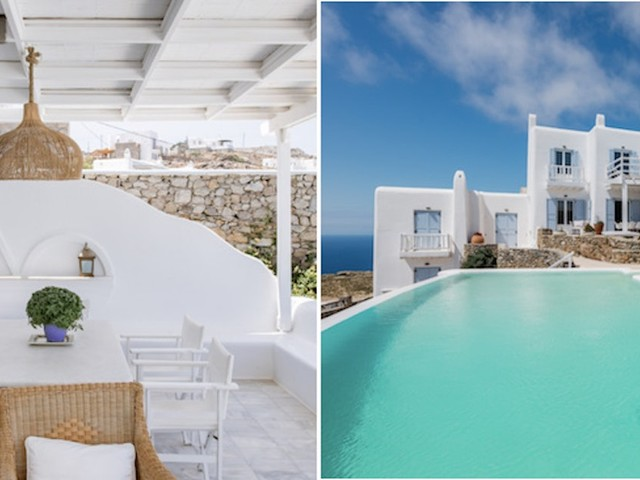 5 Airbnbs In Mykonos For Your Bestie's Bachelorette Party & Beautiful #Views