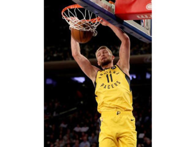 Sabonis sharp again at MSG, Pacers beat Knicks 121-106