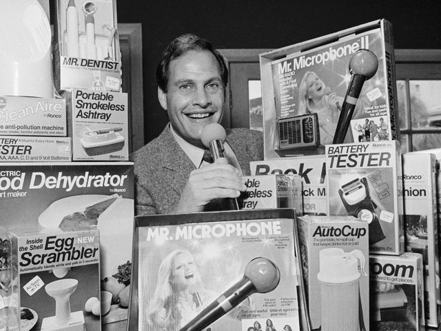 Ron Popeil was the sizzle of American ingenuity, personified
