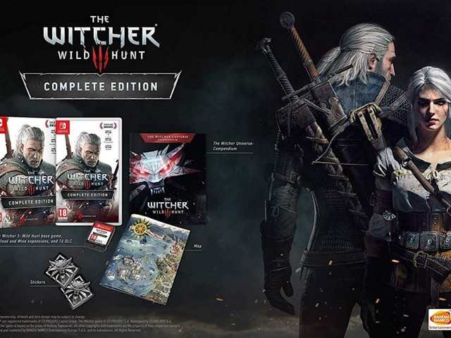 The Witcher 3: Wild Hunt for Nintendo Switch Release Date Revealed