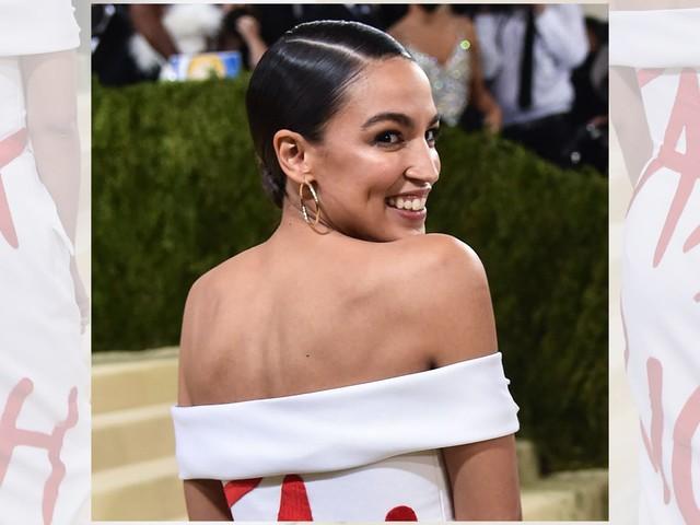 AOC wears 'Tax the Rich' dress to high-end Met Gala, sparking debate