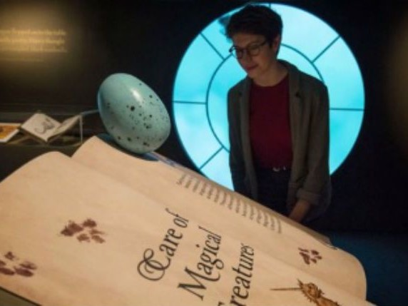 Harry Potter exhibit marks 20th anniversary of 1st book