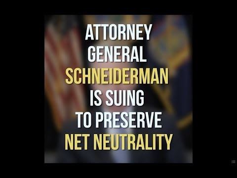 New York Attorney General Leads Filing of Multi-State Lawsuit to Block Rollback of Net Neutrality
