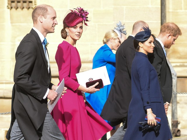 The Cambridges skipped out on a foundation meeting that the Sussexes attended