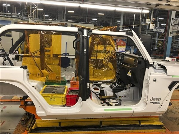 Toledo Jeep, GM plants restart without issues
