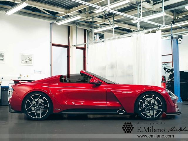 A TVR Griffith Convertible Is Coming – Here's How It Could Look