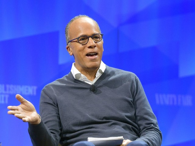 Lester Holt on Being the Voice of 'Nightly News'