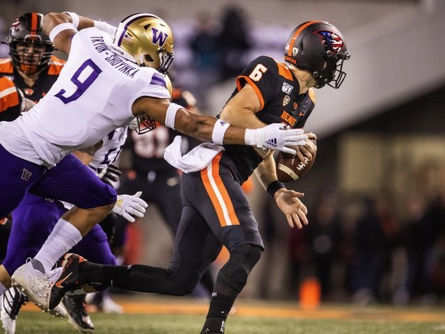 Instant analysis: Early impressions from Washington's 19-7 win over Oregon State