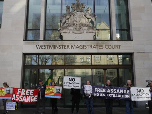 Julian Assange In Court For 'Gamechanger' Hearing As US Seeks Overturn Of Extradition Ban