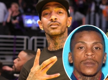 Nipsey Hussle's Alleged Killer Eric Holder Charged With MURDER, 3 Other Felonies + Chris Darden Is Representing Him
