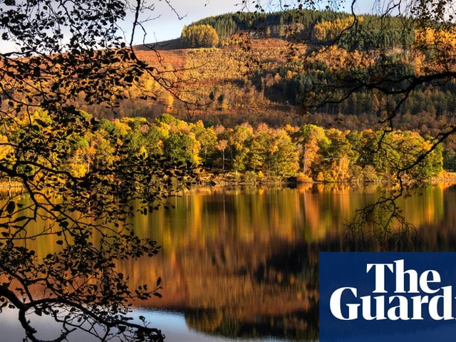 Buy a classic Guardian photograph: Loch Tummel, October 2019
