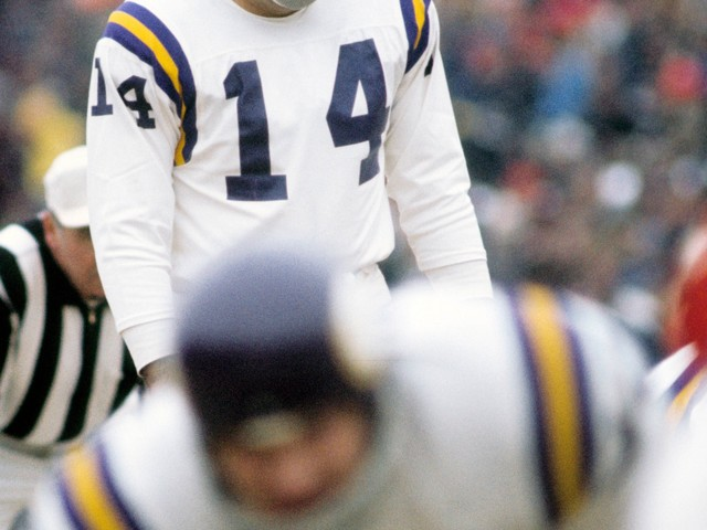 Former Minnesota Vikings kicker, co-inventor of NERF football Fred Cox dies at 80