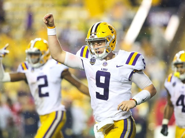 LSU a small road favorite at Florida for Saturday afternoon