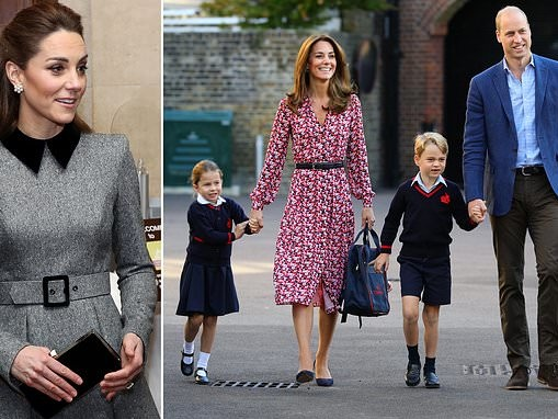 Kate Middleton reveals she spoke to her children about the Holocaust