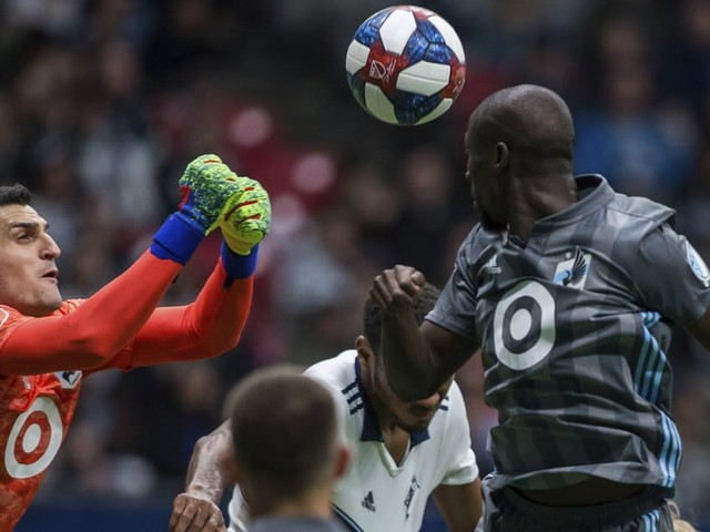 Former Premier League goalkeeper Vito Mannone adjusts to life in Minnesota, MLS