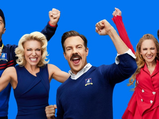 Apple TV+ hit Ted Lasso wins big at the Emmys, including award for Outstanding Comedy Series