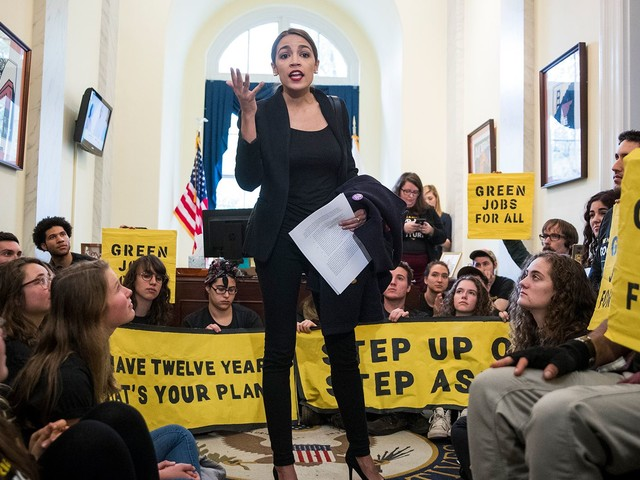 The Green New Deal Championed By Alexandria Ocasio-Cortez Gains Momentum