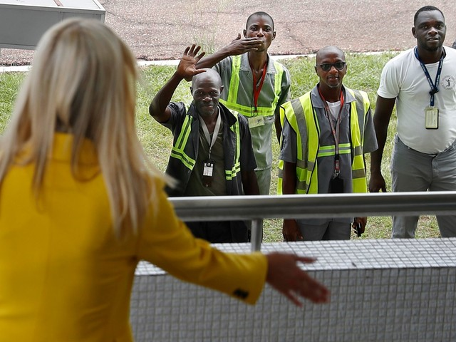 In Ivory Coast, Ivanka Trump talks women's rights