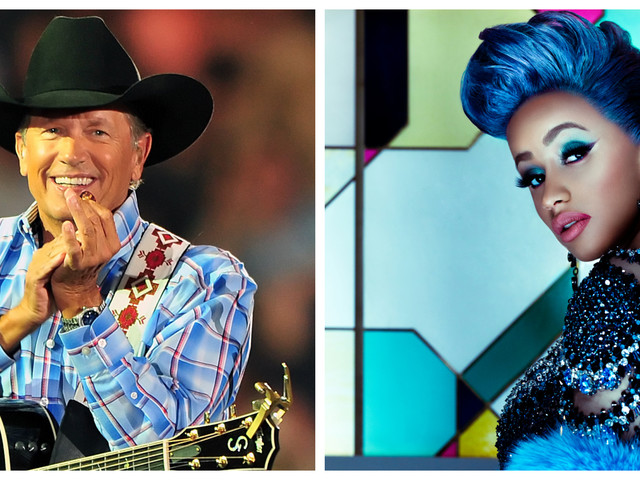 George Strait and Cardi B top RodeoHouston ticket sales