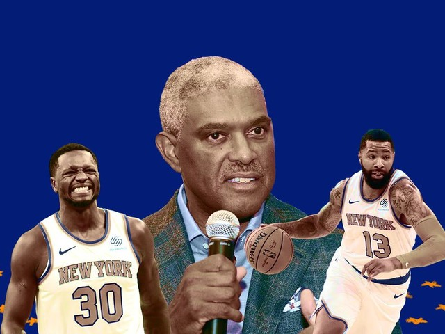 The Knicks are committing crimes against basketball