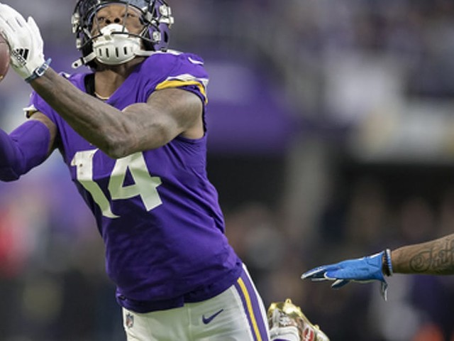 Is Cousins-to-Diggs the Vikings' new Culpepper-to-Moss? No, but it's come a long way