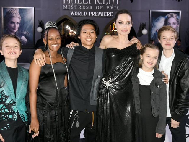 Angelina Jolie's Kids Look So Grown Up at the Maleficent: Mistress of Evil Premiere