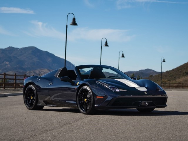 2015 Ferrari 458--Speciale--Aperta