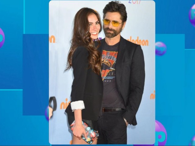 WATCH: John Stamos and fiancee Caitlin McHugh are expecting their 1st child