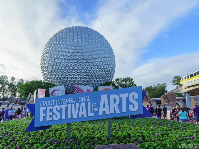 Full menu listing for the 2020 Epcot International Festival of the Arts