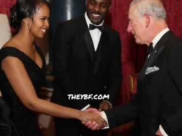 It Must Be Getting Serious! Idris Elba Brought Girlfriend Sabrina Dhowre To Meet Prince Charles.
